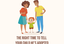 The Right Time To Tell Your Child He's Adopted