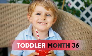 Toddler - Month 36