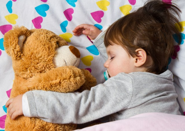 How to get a toddler to sleep in own bed