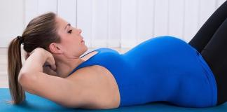 Is It Safe To Do Sit Ups During Pregnancy
