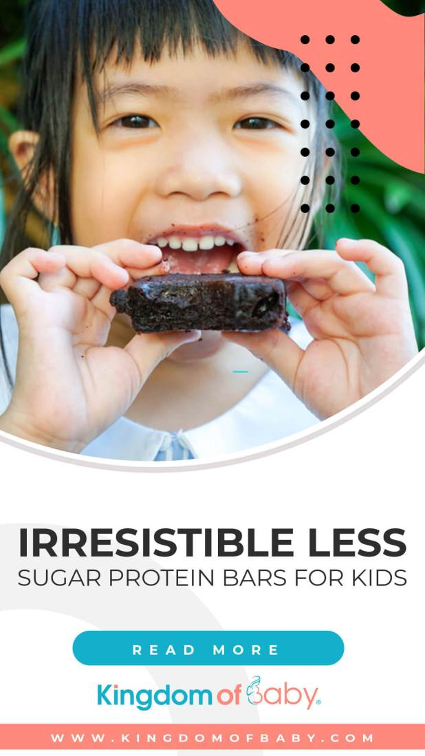 Irresistible Less Sugar Protein Bars For Kids