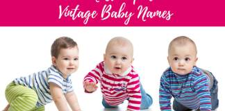 The Most Popular Vintage Baby Names