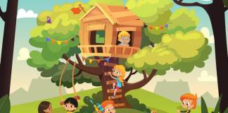 The Perfect Tandem of Kids and Treehouses
