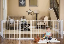 The Top Of The Line Extra Wide Baby Gates