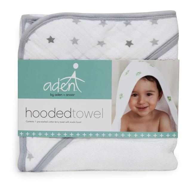 The Coziest Aden and Anais Bath Wrap for Babies 1