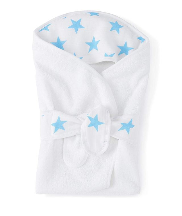 The Coziest Aden and Anais Bath Wrap for Babies 2