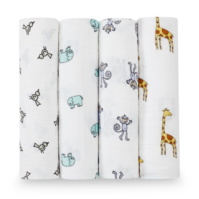 The Coziest Aden and Anais Bath Wrap for Babies 3
