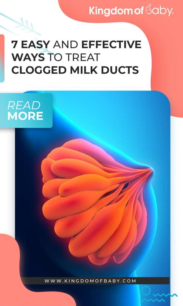 7 Easy and Effective Ways to Treat Clogged Milk Ducts