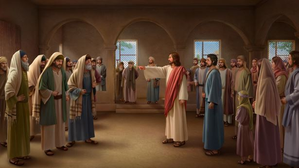 主耶稣对法利赛人的斥