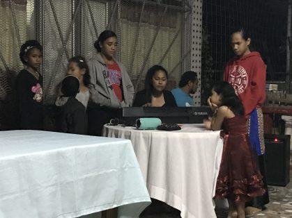 Ministering at a home group, Lautoka, Fiji 2019