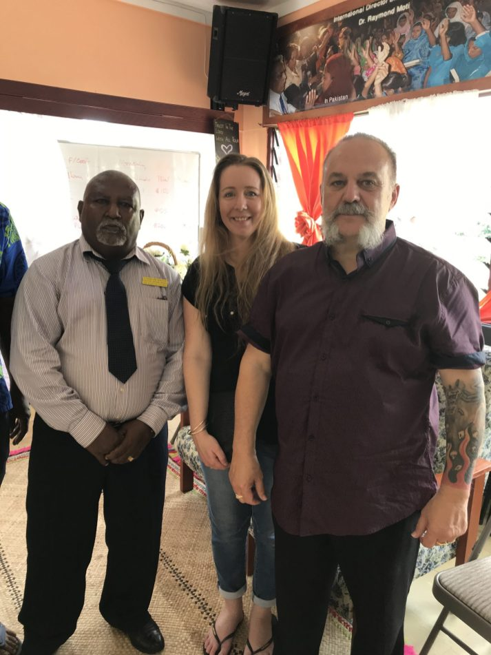 Ministering at Lifebread Church, Lautoka, Fiji. 2019