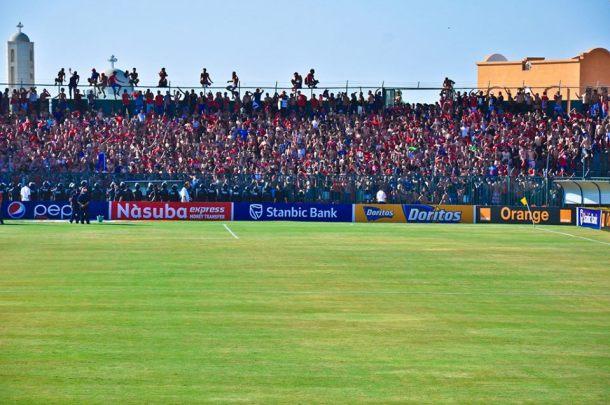 Gouna stadium - ultras
