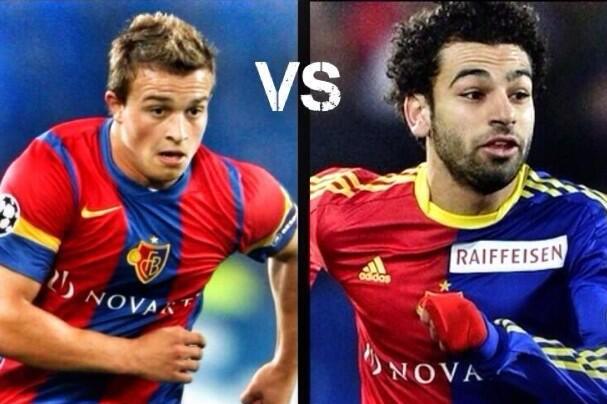 FC Basel - Shaqiri vs Salah