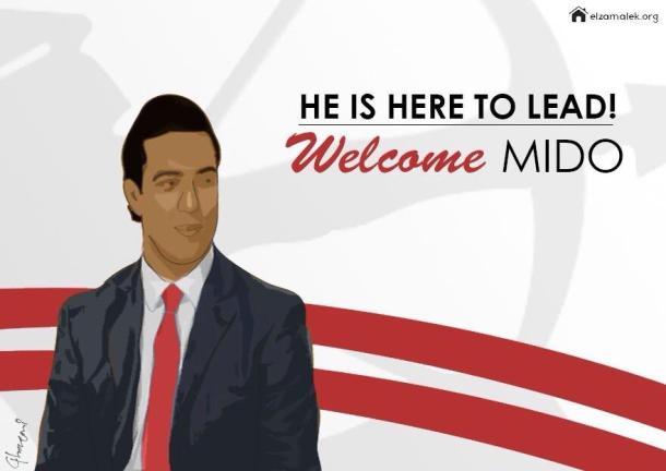 Zamalek manager Mido