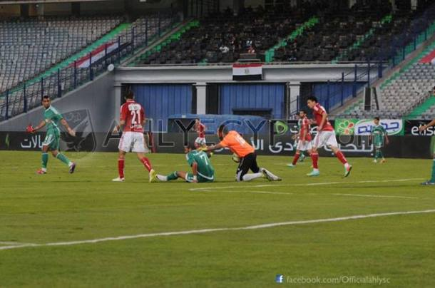 Ahly frustrated vs Ittihad