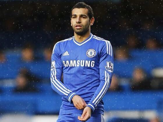 Salah plays - Chelsea