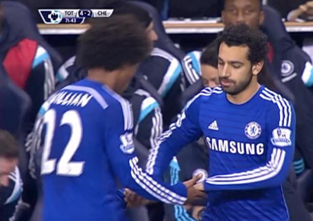 Salah appears