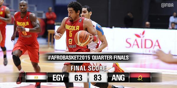 Angola 83-63 Egypt