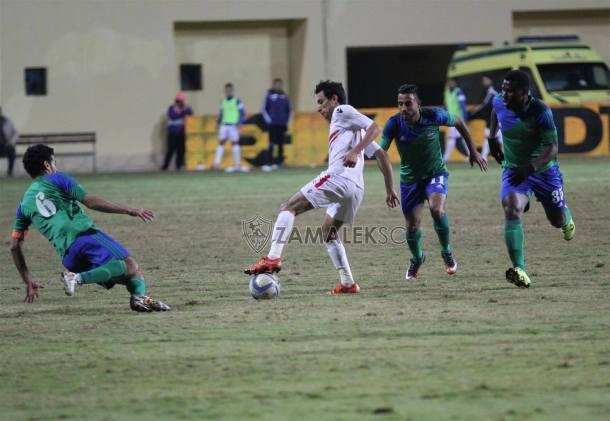 Zamalek 2-2 Maqassa Mostafa Fathi late equaliser