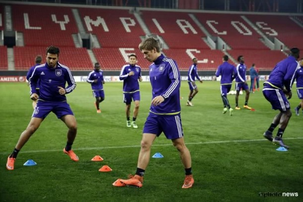 Anderlecht progress