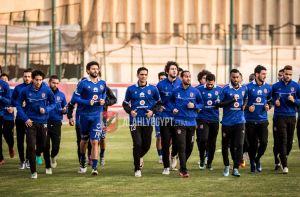 Al Ahly squad training Hossam El-Badry