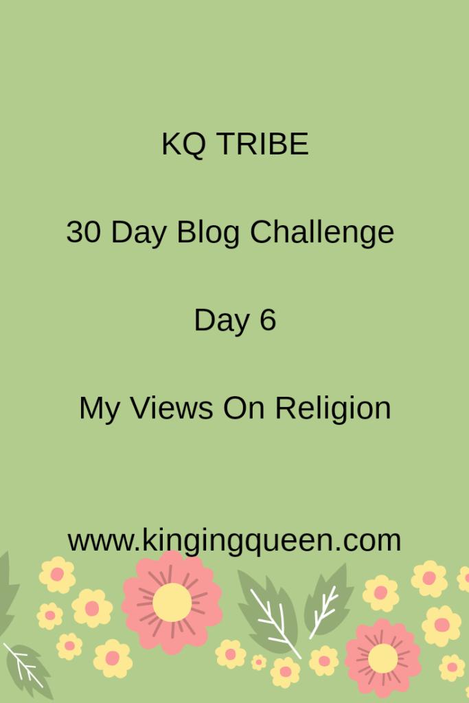 30 Day Blog Challenge: Day 6