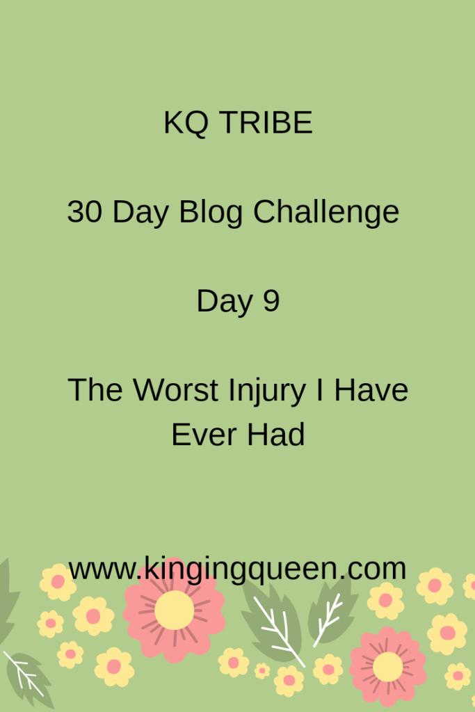 30 Day Blog Challenge: Day 9