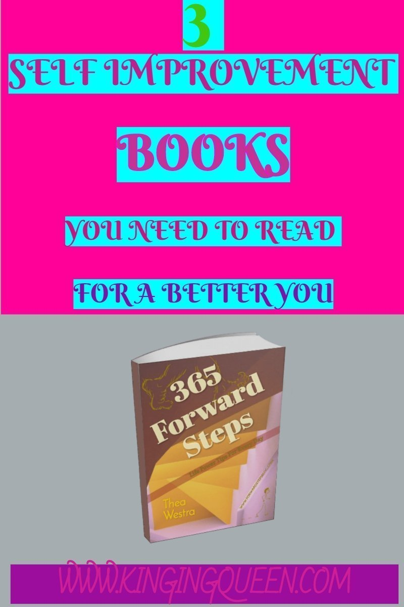 Graphic reading 3 self improvement books you need to read for a better you