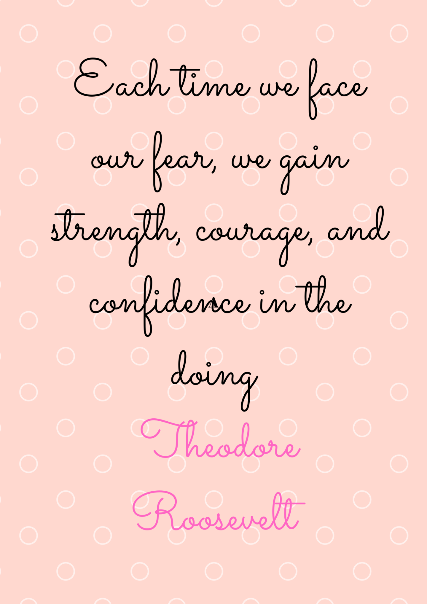 Self confidence quote by Theodore Roosvelt