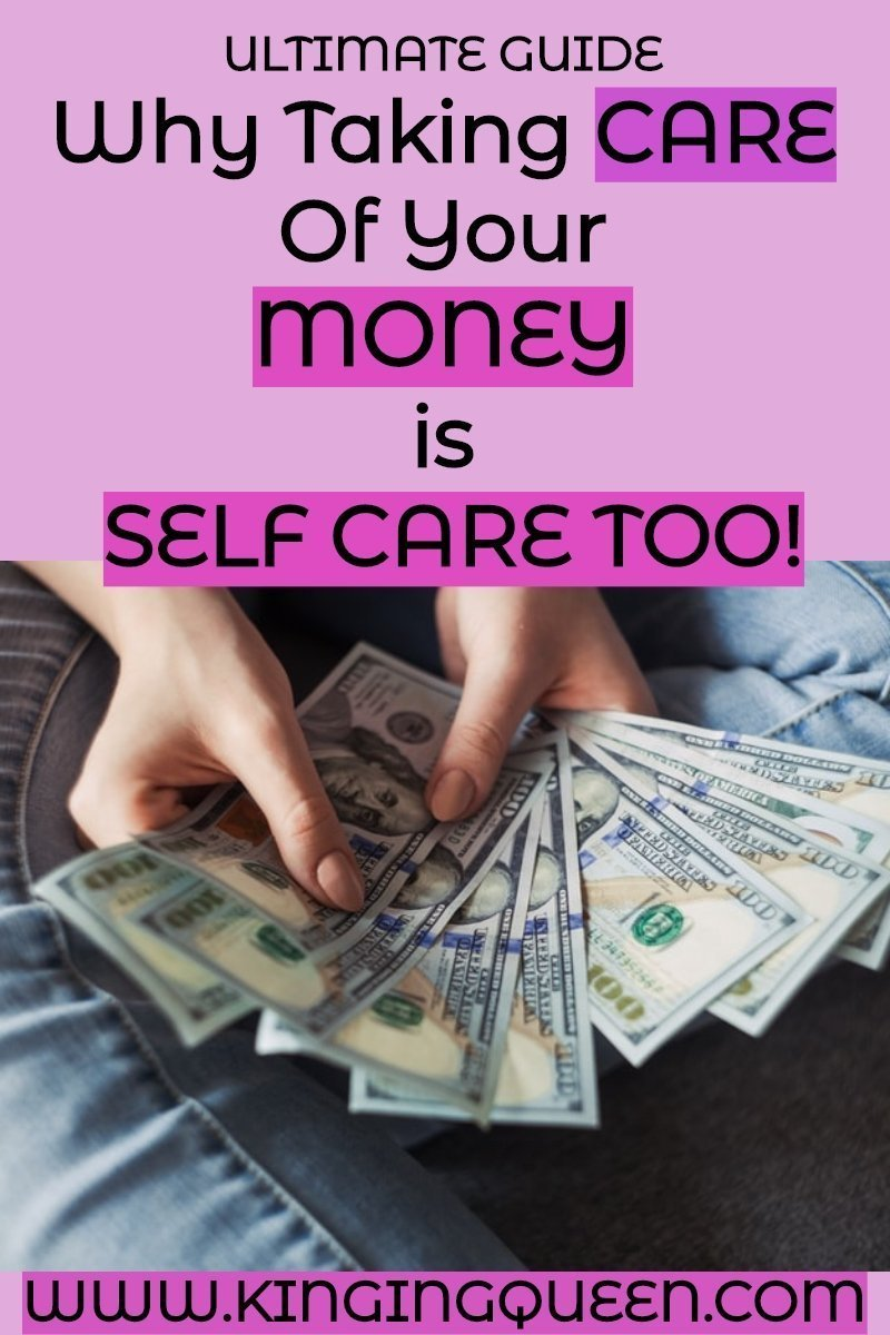 taking care of your money is self care too