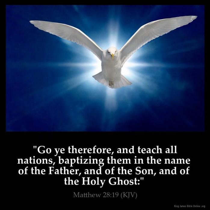 Matthew 28:19 Inspirational Image