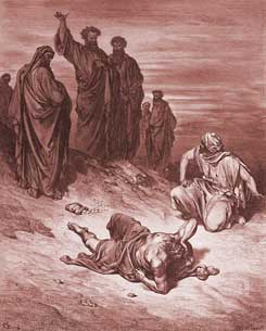 Acts Chapter 5: Death of Ananias
