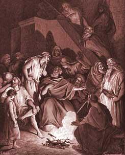 John Chapter 18: Peter Denies Knowing Jesus
