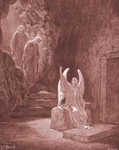 Matthew Chapter 28: The Angel at the Empty Tomb