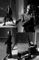 Coat - Patrik Ervell | Top - Logan Combs | Skirt - Wesley Berryman | Jeans - Versace | Socks - Falke | Shoes - Dr. Martens | Top - By the R | Belt - Zana Bayne | Jacket (around waist) - KTZ | Jeans - Versace | Arm Cuffs - Nasty Pig | Gloves - KTZ | Socks - Falke | Shoes - Dr. Martens