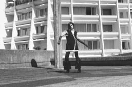 Jacket - Tiphaine Guiran | Trousers - Tiphaine Guiran | Gloves - Ignacia Zordan | Boots - Dorateymur