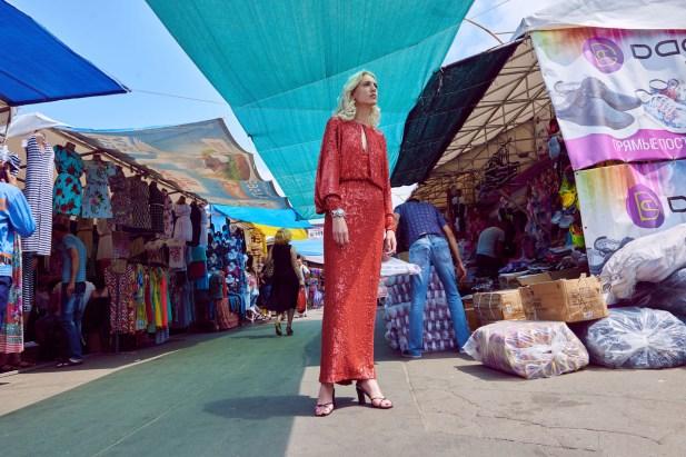 Dress and top - Yasya Minochkina
