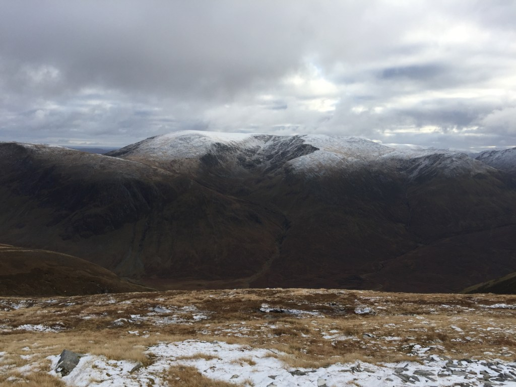 Maoile Lunndaidh from the decent to Glenuaig Lodge