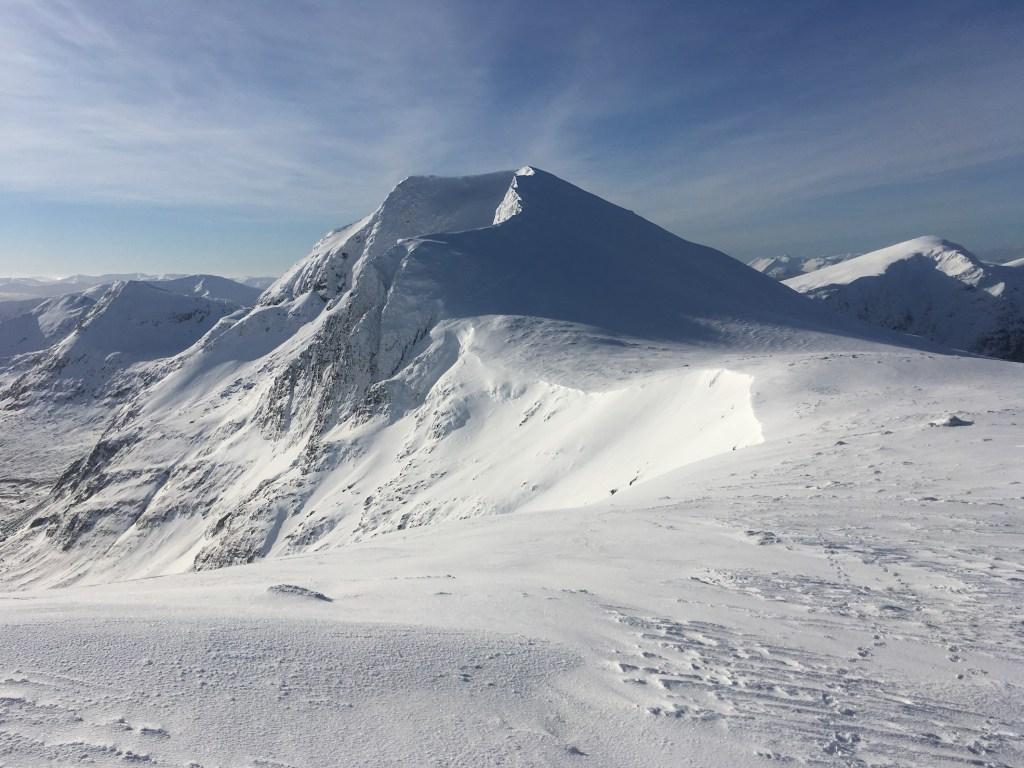 Sgurr nan Clach Geala in winter