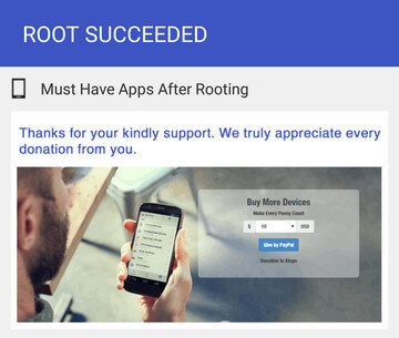 Kingo Root Apk Root Réussir