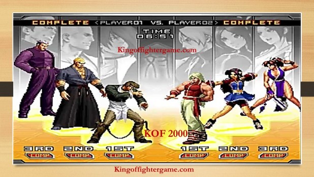 KOF 2000 PC Game Full Version