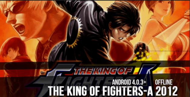The KOF 2012 game APK for Android Mobile Free Download