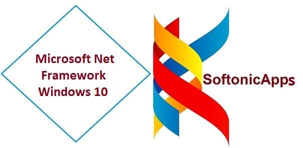 Microsoft Net Framework Windows 10