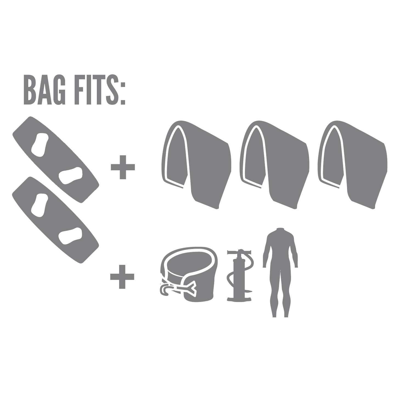 Prolimit Golf Kite Bag Dlx Ltd Wheeled