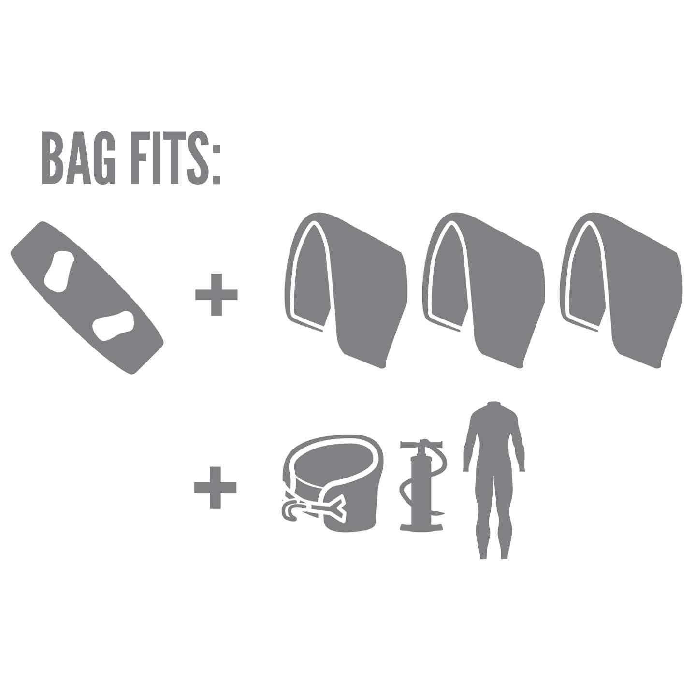 Prolimit Golf Kite Bag Travel Light Wheeled