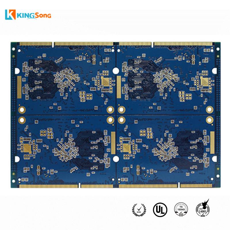 Custom 8 Layers High Density PCB Board Fabrication