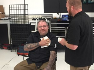 Kingpin Crew Gets Specialized First Aid Training