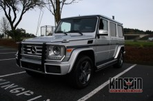 Mercedes-Benz G63 Motorized Steps