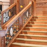 Decorative Scroll Railing Made with King StarBoard® ST Black