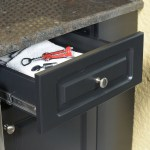 Close up of Drawer Made with King StarBoard® ST Black